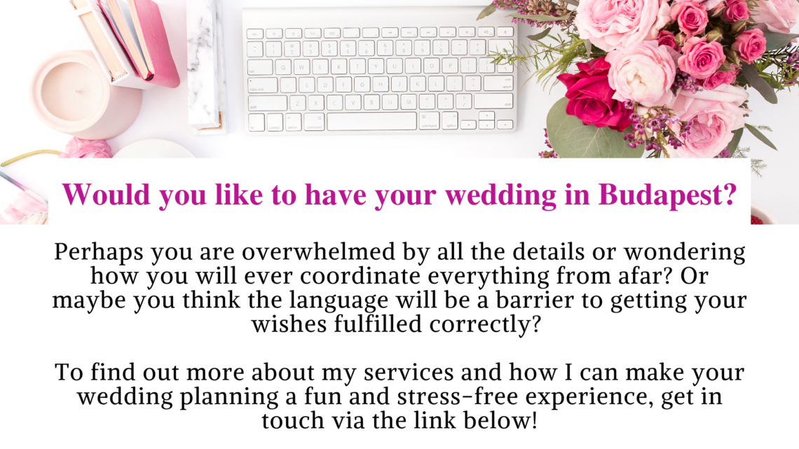 Contact link to Wedding Planner, Dream Weddings Budapest