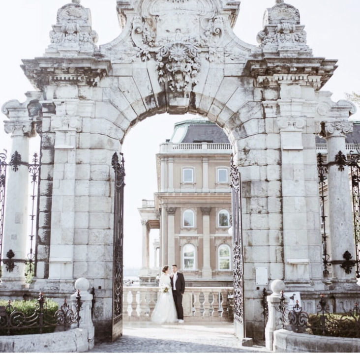 Wedding in Budapest at Buda Castle
