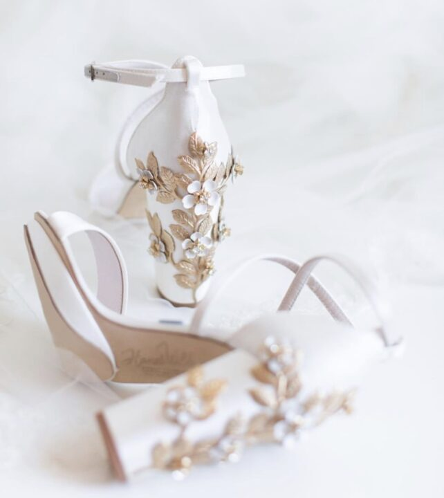 arabella blossom wedding shoes by harriet wilde