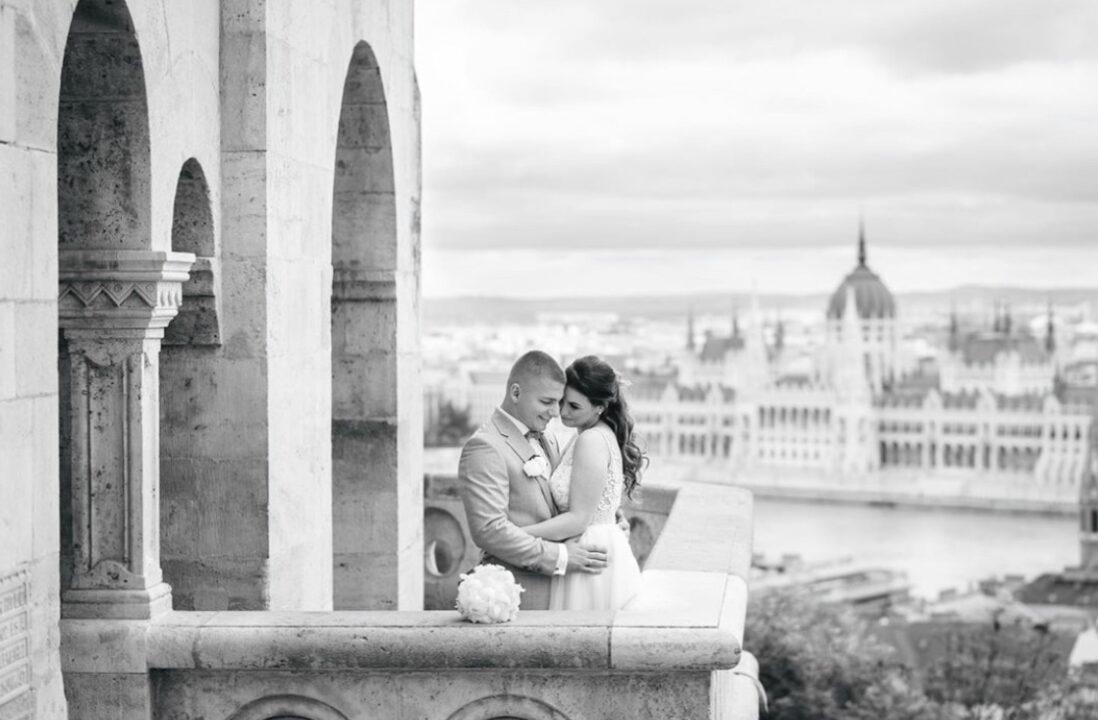 Fisherman's Bastion wedding photography Budapest